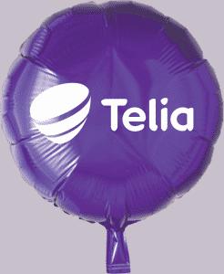 telia ballon tryk