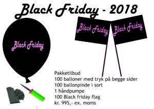 Pakketilbud Black Friday 2018